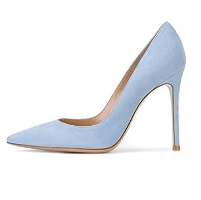 Sammitop Womens Comfort Blue Size: 5