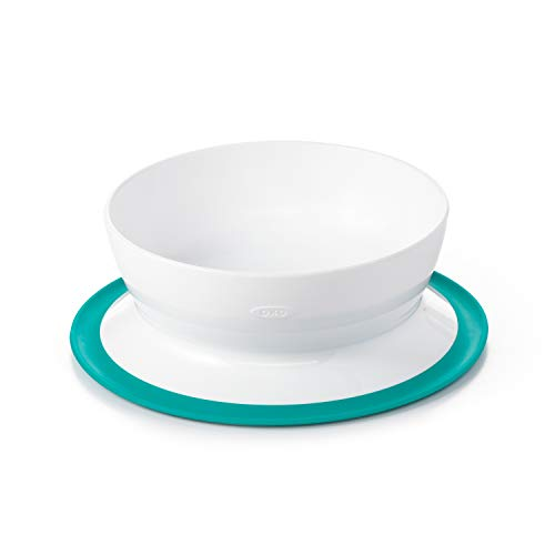 OXO Tot Stick & Stay Bowl, Teal