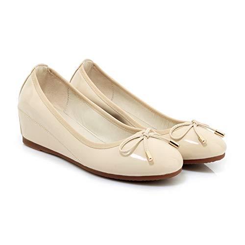 Sandales SDC05971 Abricot AdeeSu Compensées Femme BzHwSx