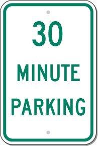 Reflective Aluminum Sign - Metal Traffic Sign: 12