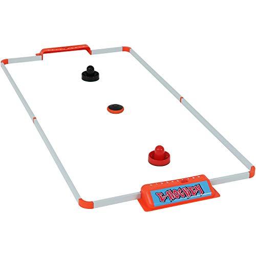 Sunnydaze Portable Hover Air Hockey Set, 52-Inch (Hockey Frame Puck)