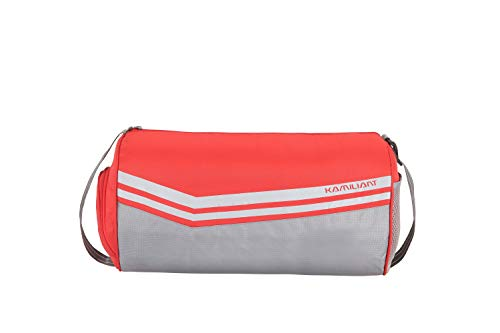Kamiliant by American Tourister KAM Shuttle Polyester 47 cms Sunset Red Gym Bag (KAM Shuttle Gym Duffle SN RED)