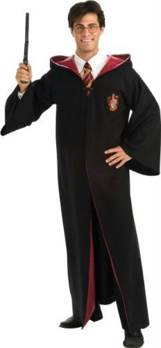 Deluxe Harry Potter Robe - Deluxe Harry Potter Robe Costume - Standard - Chest Size 42