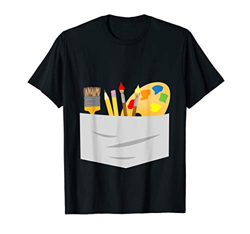 Fun Halloween Artist Costume Tee Shirt -