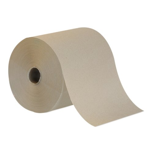 Georgia Pacific 26301 Envision High Capacity Roll Paper Towels, 8 x 800 Roll, Brown, Poly-bag Protected (1) by Georgia-Pacific