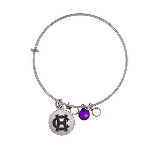 College Bracelets - College of the Holy Cross-Frankie Tyler Charmed Bracelet