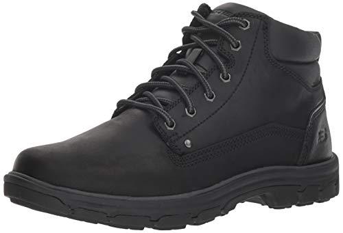 Skechers Men's Segment-Garnet Hiking Boot, BBK, 9 Medium US