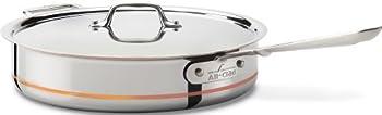All-Clad Copper Core 5-Quart Saute Pan (Second Quality)