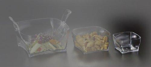 Salad Bowl Square Small (Acrylic), 1 Each