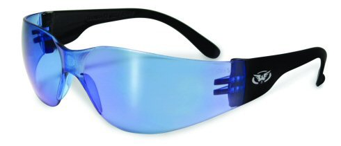 Global Vision Eyewear Rider Anti-Fog Safety Glasses, Yellow Tint Lens, Outdoor Stuffs