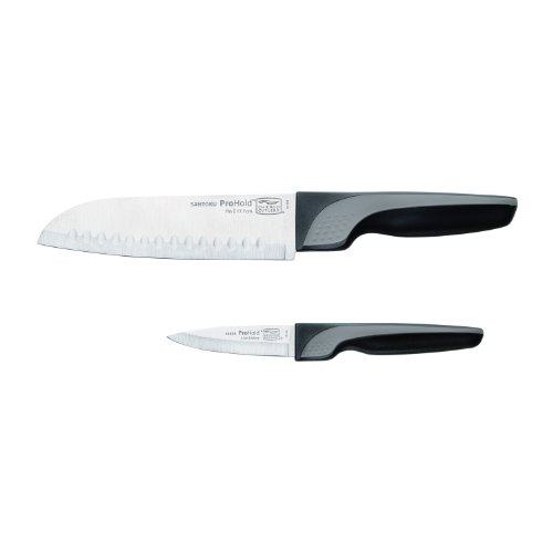 Chicago Cutlery 1109801 Prohold Series 2-Piece Santoku and Parer Knife Set