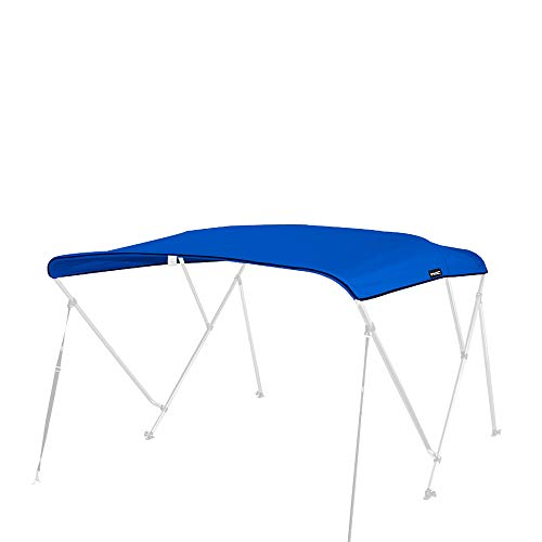 - MSC 600D Canopy Canvas Replacement Without Poles (Pacific Blue, Fits 6'Lx85-90 W 3 Bow Bimini Top)