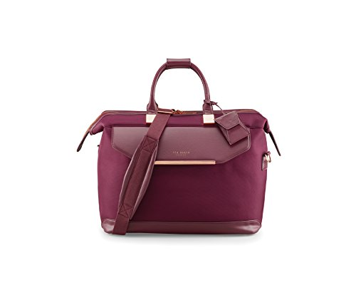 Ted Baker Womens Albany Softside Holdall Bag (Burgundy)