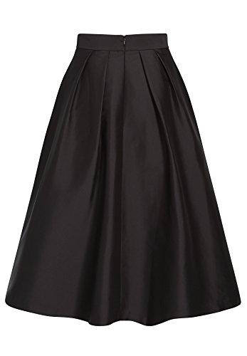 APART Fashion Rock, Falda para Mujer Negro