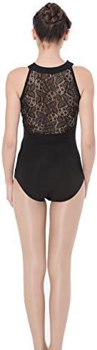 ModLatBal Womens Spandex Gymnastics Leotard product image