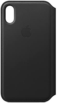 official photos 4e0fc 2293c Apple Leather Folio (for iPhone X) - Black