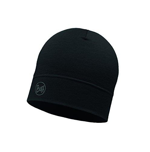 Accesorio Midweight Cabeza black Adulto Wool Buff Hat para solid la Unisex negro 7CfqB