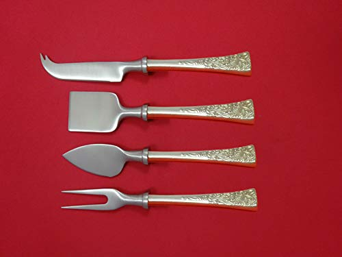 Tapestry By Reed & Barton Sterling Silver Cheese Serving Set 4 piece HHWS ()