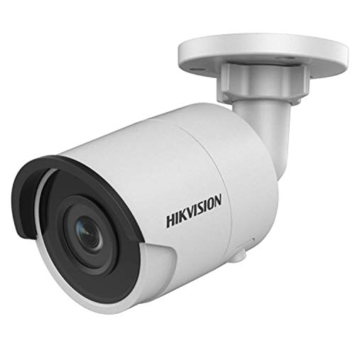 Hikvision 8 Megapixel IP Camera, H.265+ DS-2CD2085FWD-I Bullet Security Camera Outdoor IP67 firmware upgradeable International Version (2.8mm Lens)