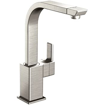Moen S7170srs 90 Degree One Handle High Arc Kitchen Faucet