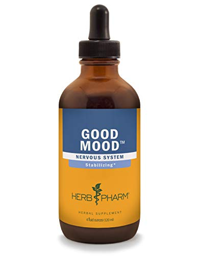 Herb Pharm Good Mood Liquid Herbal Formula with St. John's Wort for Healthy Emotional Balance – 4 Ounce