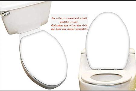 Impermeabile SeptSonne Adesivo per Sedile WC in bamb/ù Decorativo Motivo: Pietre Zen 14 x 14 13x15.5 Color5