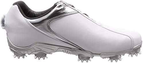 ゴルフシューズ FJ SPORT Boa メンズ ホワイト/シルバー(18) 25 cm 3E 53142J 25.0 cm