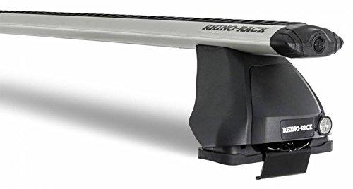 Rhinoラック2015 – 2017アキュラTLX 4drセダン渦2500シルバー2バー屋根ラックja8408 B075TGYRPF