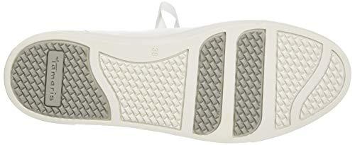 22 23733 Zapatillas 100 Blanco 1 Para white Tamaris 100 Mujer 1 qfExR4wt