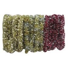 SANTA'S BEST IMPORTS-YHC 1662-5003AC DIAMOND TIFFANY TINSEL GARLAND