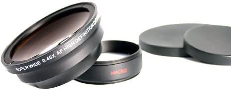 Includes Lens Ring Adapter For Leica D-LUX 6 37mm New 0.45x High Grade Wide Angle Conversion Lens