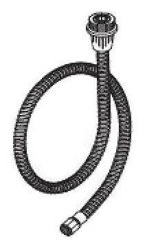 Danze DA511006NBN Stainless Steel Braided Side Spray Hose, 47-Inch, Brushed Nickel