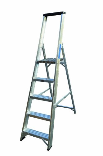 Lyte 5 Tread Platform Stepladder (with tool tray) BS2037 Class1 by Lyte