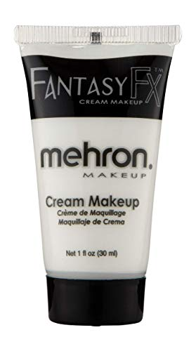 Grudge Halloween Makeup (Mehron Makeup Fantasy F/X Water Based Face & Body Paint (1 oz))