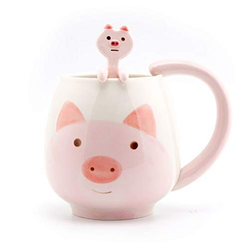 Pig Ceramic Coffee Mug Tea Cup