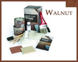 Finishing Kit Walnut Stain Kit for Fiberglass Doors by Therma Tru