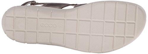 ECCO Eccoecco Babett Sandal - Sandalias de Talón Abierto Mujer Plateado (MOON ROCK11459)