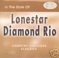 LONESTAR & DIAMOND RIO Country Karaoke Classics CDG Music CD