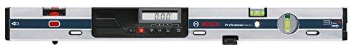Bosch Professional GIM 60 L, 60 cm Länge, 0 - 360° (4 x 90°) Messbereich, ± 0,05° Messgenauigkeit Elektronik 0°/90°, Schutztasche, 2 Befestigungsschlaufen