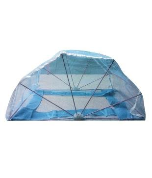ans mosquito net 5x6 ft blue