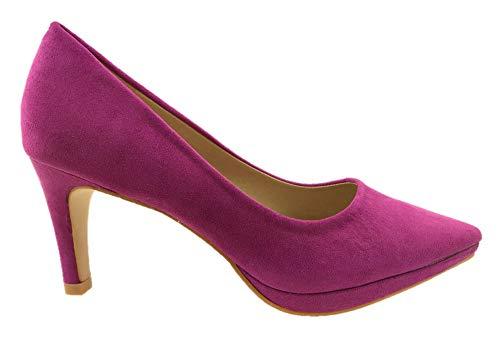 Zapatos Azaray Vestir De Morado Sintético Para Mujer Pw4Fqgw