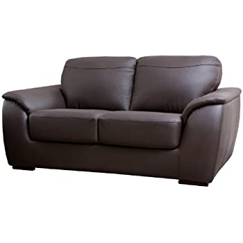 This Item Abbyson Carlisle Leather Loveseat