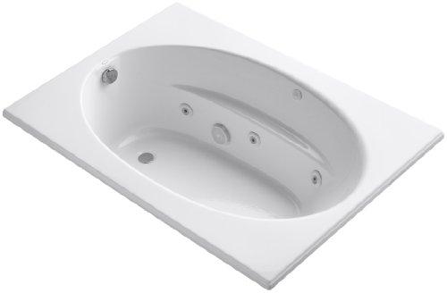 Windward Whirlpool Tub - Kohler K-1112-0 Windward 5Ft Whirlpool, White