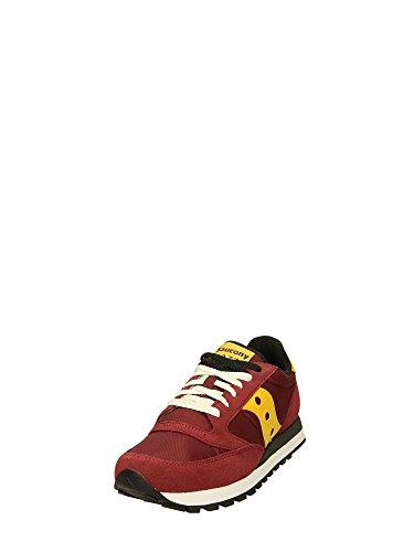 Uomo Gialla Bordeau Sneakers Jazz Saucony Basse qPSwafZnt