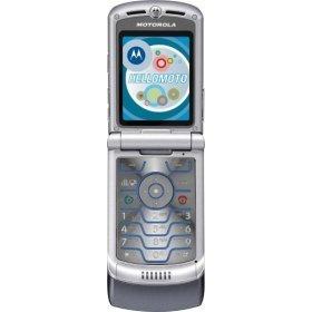 Motorola Razr V3C Platinum-Granite (US Alltel with no contract)