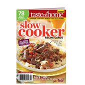 Slow Cooker Recipe Cards magazine by Taste of Home / 78 Hot & Hearty Classics