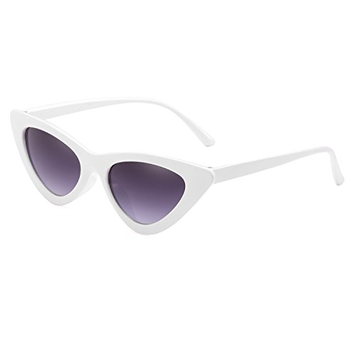 Fashion Green Sun Frame Blue Small Eyewear Gray Triangle Glasses Cat Sunglasses Reb UV400 White Frame Eye Size New Women Lens Gradient Pc6z678qI4