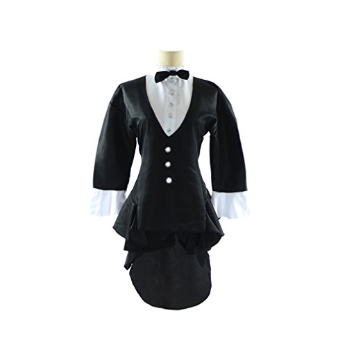 Tuxedo Mask Costume Cape (BS Japan Anime Uniforms [Plus size Tuxedo Girl Costume] 1X-5X (14-32) (5X (30~32)))