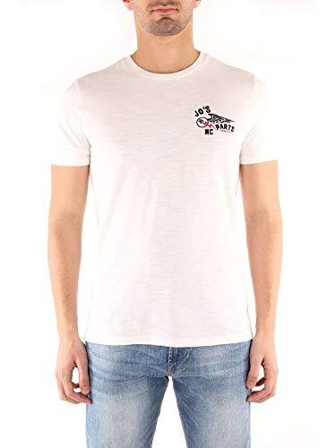 Woolrich By Rich Penn Penn Motorcycle Teebianco Bianco shirt rich T Uomo qBFSp