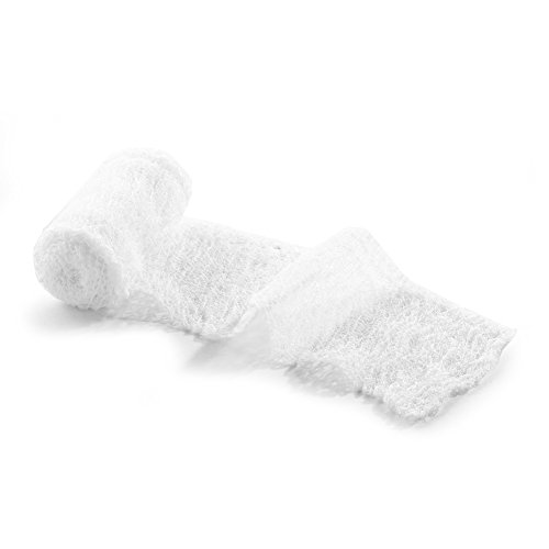 MediChoice Gauze Roll Bandage, 3-Ply, Sterile, Hypoallergenic, 3 Inch x 4 Yards, White, 1314GZBN1002 (Case of 96)